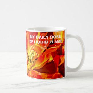 Tulipes rouges macro mug