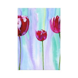 Tulipes Toile