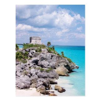 Tulum, carte postale du Mexique