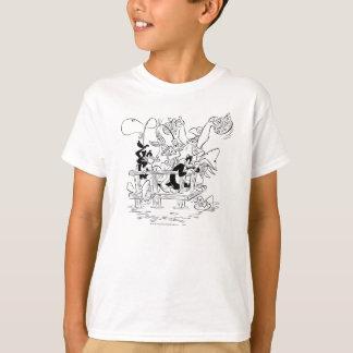 TUNES™ Gegaane Visserij LOONEY T Shirt