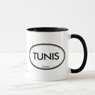 Tunis, Tunisie Mug