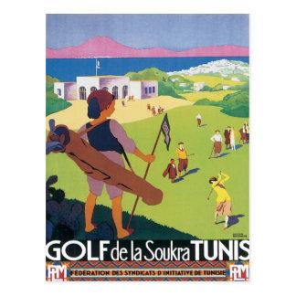 Tunis vintage Tunisie Carte Postale