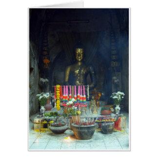 Tunnel Bouddha Carte De Vœux