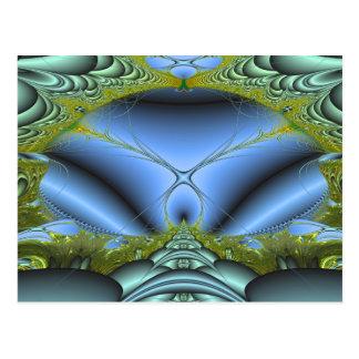 Tunnel de l'amour carte postale