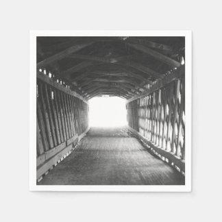 Tunnel de lumière serviette en papier