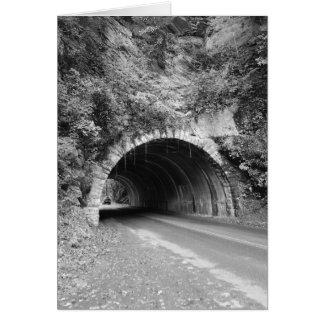 Tunnel de montagne du Tennessee Carte De Vœux