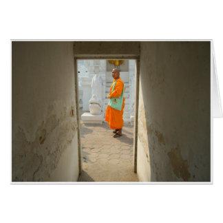 Tunnel de temple carte de vœux