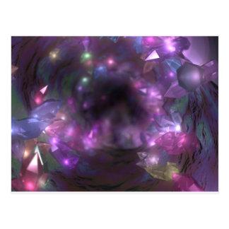Tunnel en cristal : Carte postale