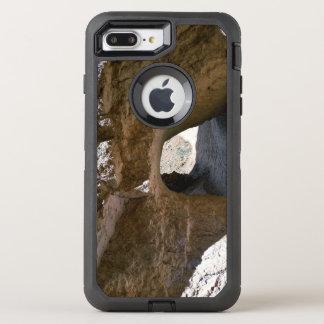 Tunnel sur la traînée semi-transparente de boucle coque otterbox defender pour iPhone 7 plus