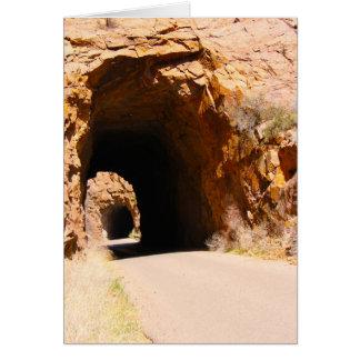 Tunnels de Gilman, Nouveau Mexique Carte De Vœux