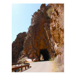 Tunnels de Gilman, Nouveau Mexique Carte Postale