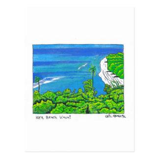 Tunnels Kauai Carte Postale
