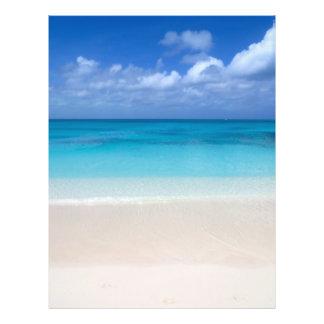 Turcs de la plage | et photo sous le vent de la prospectus 21,6 cm x 24,94 cm