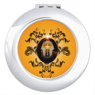 Tutankhamun, de agyptischefarao make-up spiegel