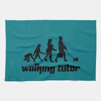 Tuteur de marche serviette pour les mains