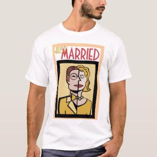 Twee worden één.  Enkel Gehuwd. (2) T Shirt
