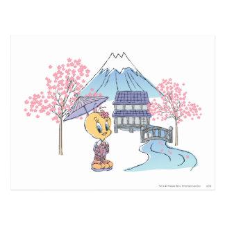 Tweety Japon Carte Postale