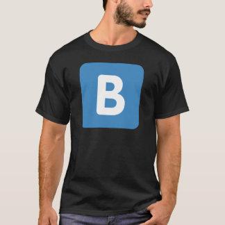 Twitter emoji - Letter B T Shirt