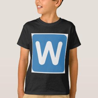 Twitter Emoji - Letter W T Shirt