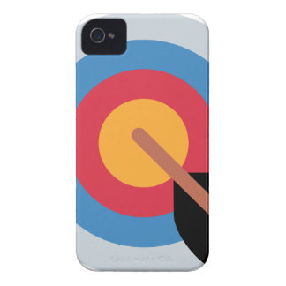 Twitter Emoticon - target archery Coques iPhone 4