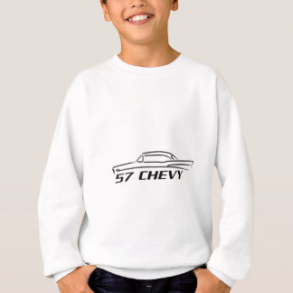 Type 1957 supérieur dur de Chevy Sweatshirt