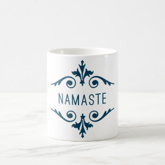 Typographie de motivation de forme physique de mug blanc