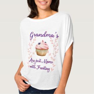 Typographie du givrage de la grand-maman t-shirt