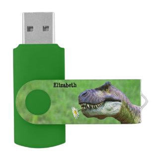 Tyrannosaurussen Rex met de Flits van USB van de Swivel USB 3.0 Stick
