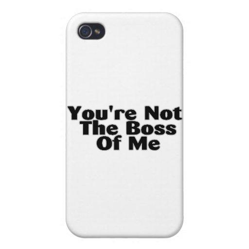 U bent niet de Werkgever van me iPhone 4 Hoesjes