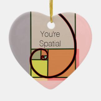 U bent Ruimte Ornament