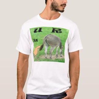 U R un T-shirt drôle d'âne
