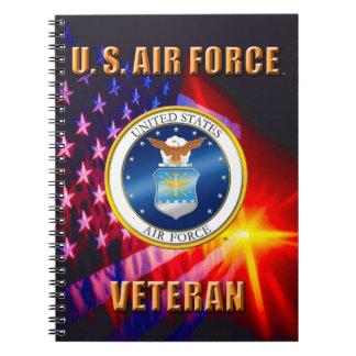 U.S. Carnet de photo de spirale de vétéran de
