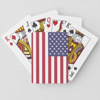 U.S. De Speelkaarten van de vlag
