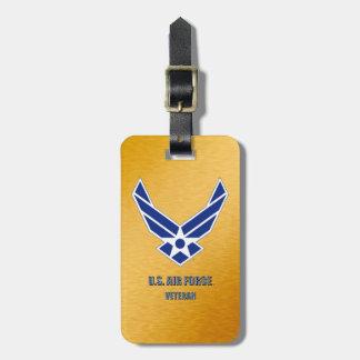 U.S. Étiquette de bagage de vétérinaire de l'Armée Étiquette À Bagage