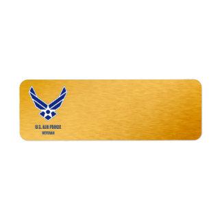 U.S. Étiquette de vétéran de l'Armée de l'Air