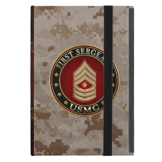 U.S. Marines : Premier sergent (usmc 1stSgt) [3D] Coque iPad Mini