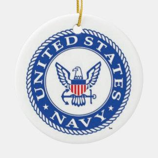 U.S. Ornement bas naval de Noël de Navy® San Diego