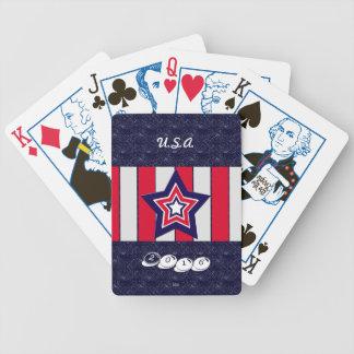 U.S. Patriottische Viering van Nationale Poker Kaarten