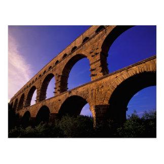 UE, France, Provence, le Gard, Pont du le Gard. 3 Carte Postale