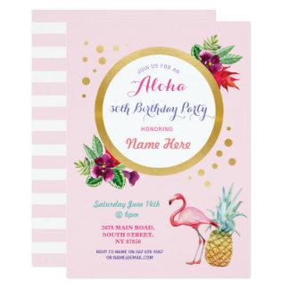 Uitnodiging van de Partij van de Flamingo van de