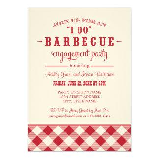 Uitnodiging | van de Partij van het Verloving van 12,7x17,8 Uitnodiging Kaart