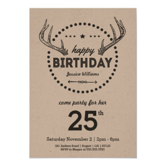 Uitnodiging van de Verjaardag van geweitakken