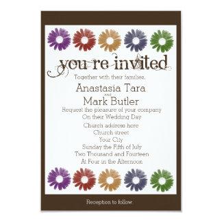 Uitnodigingen van het Huwelijk van rustieke