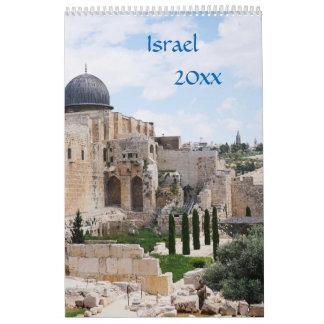 Uitzicht van Israël, kalender 2018