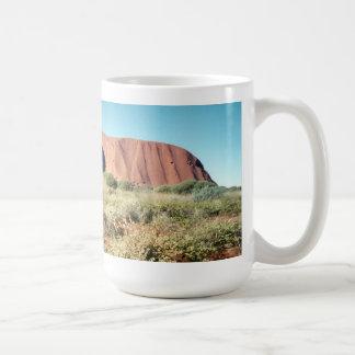 Uluru panoramique mug