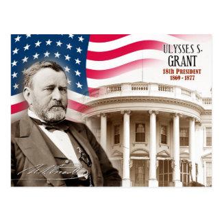 Ulysse S. Grant - 18ème président des États-Unis Carte Postale