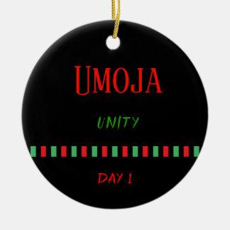 Umoja - ornement du jour 1 % pipe% de Kwanzaa