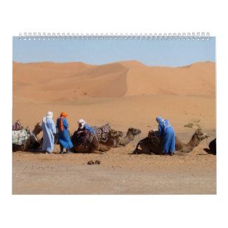 Un autre calendrier du Maroc
