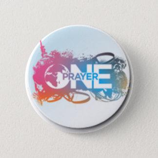 Un bouton de prière badge rond 5 cm
