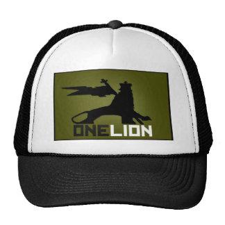UN chapeau de LOGO de LION Casquettes De Camionneur